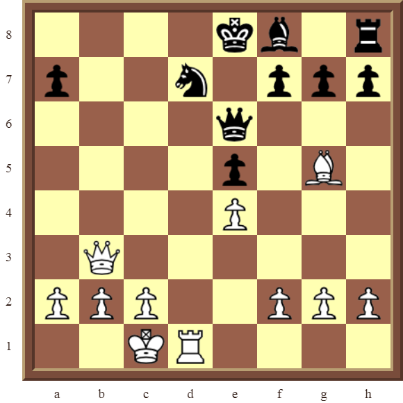 White to move and Checkmate in two moves!