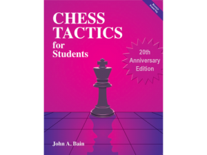 Chess Tactics For Students workbook