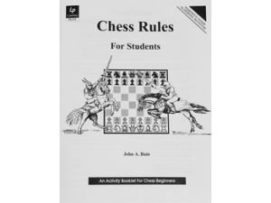 Chess Rules For Students workbook