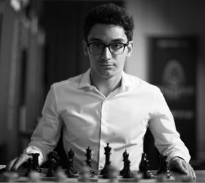 USA's Fabiano Caruana is the #2 rated chess player in the world at 2828.