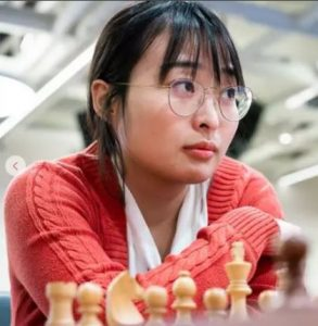 China's Ju Wenjun, the Women's World Chess Champion, at 2575 is the #2 rated woman in the world.
