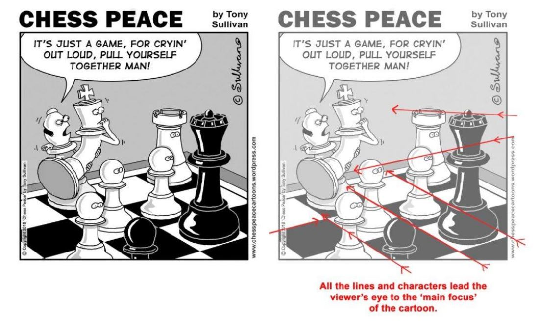 DRAWING CHESS CARTOONS with Tony Sullivan!